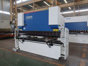 100 ટી 2500 2 અક્ષ નિયંત્રણ હાઇડ્રોલિક પ્રેસ બ્રેક નમેલી મશીનો