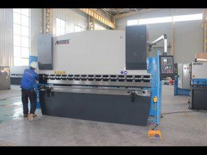 125 ટી શીટ મેટલ બેન્ડિંગ મશીન 6 એમએમ, ચાઇના માટે હાઇડ્રોલિક પ્રેસ બ્રેક WC67Y-125T 3200