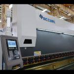 4 એક્સિસ સીએનસી પ્રેસ બ્રેક મશીન 175 ટન એક્સ 4000 એમએમ સીએનસી મોટરિંગ તાજગી