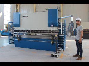 સીઈ 2 અક્ષ સી.એન.સી. પ્રેસ બ્રેક 130Tx3200 E200 એનસી નિયંત્રણ સિસ્ટમ એનસી પ્રેસ બ્રેક મશીન