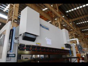 હાઇડ્રોલિક એનસી પ્રેસ બ્રેક / શીટ મેટલ બેન્ડિંગ મશીન MB7-125Tx3200