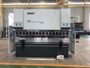 We67k CNC હાઇડ્રોલિક આયર્ન શીટ પ્રેસ બ્રેક