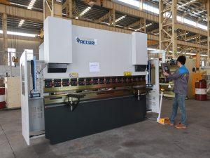 ઉચ્ચ ગુણવત્તાની પોર્ટેબલ નાની 30 ટન સીએનસી નમેલી મશીન, નાના પ્રેસ બ્રેક ઇન્સ્ટૉક