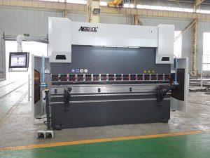 વેચાણ માટે હાઇડ્રોલિક પ્રેસ બ્રેક WC67K 160T 3200 નમવું મશીન