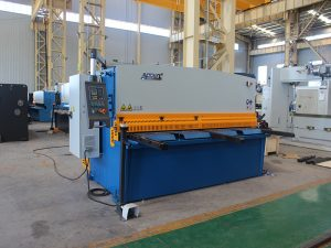નાની શીયરિંગ મશીન, ક્યુસી 12 -4X2500 હાઇડ્રોલિક મેટલ પ્લેટ શીયરિંગ મશીન