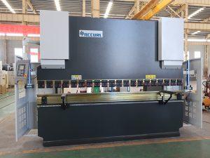 સલામતી એનસી પ્રેસ બ્રેક સર્વિસ સ્ટીલ બોન્ડિંગ મશીન 80T 2500mm WC67K નો ઉપયોગ કરે છે